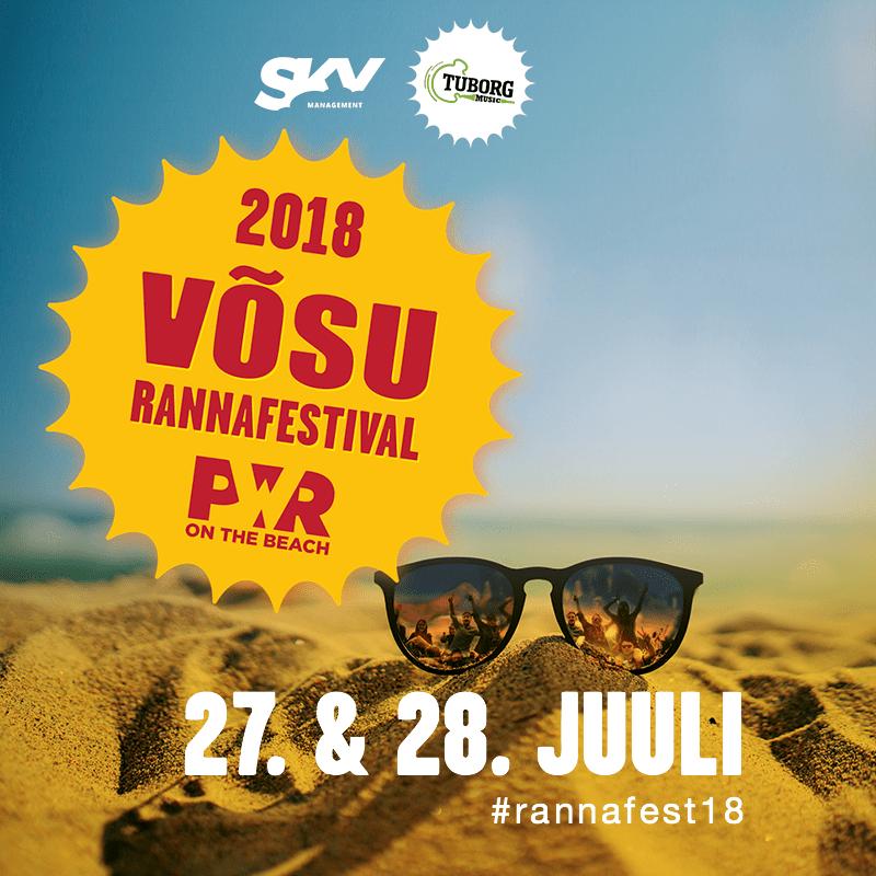 võsu rannafestival 2018